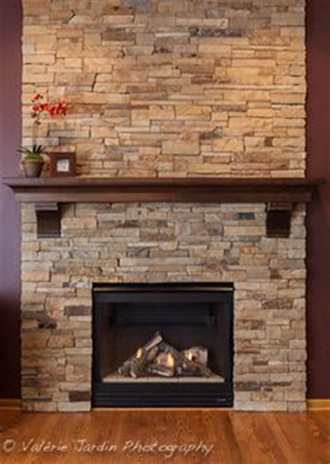 stacked stone fireplace fireplace remodel fireplace