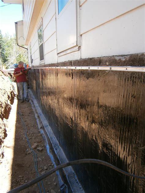 Foundation Repair   Piering and exterior Waterproofing job