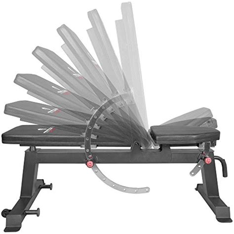 titan fitness adjustable flat incline weight bench  lb