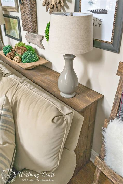 build  rustic sofa table worthing court