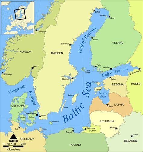 Karte Baltische Region : Weltkarte.com - Karten und ...