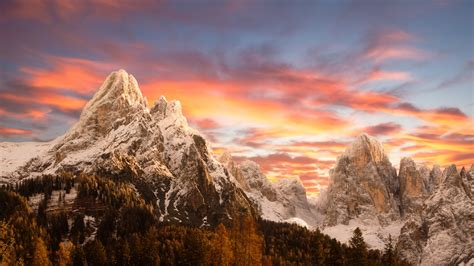 Dolomites Mountains, Hd Nature, 4k Wallpapers, Images