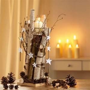 Weihnachtsdeko Natur Ideen Zum Selbermachen : decorazioni natalizie con tronchi e rami 20 idee creative ~ Orissabook.com Haus und Dekorationen