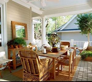 Country, Style, Front, Porch, Decorating, Ideas, U2014, Randolph, Indoor, And, Outdoor, Design