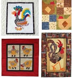 Free Chicken Quilt Block Patterns