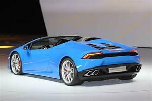 Lamborghini Huracan Spyder : lamborghini huracan lp 610 4 spyder bows in frankfurt motor trend ~ Medecine-chirurgie-esthetiques.com Avis de Voitures