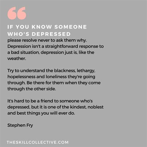 Someone Is There To Help You by Quote Of The Day If You Someone Who S Depressed