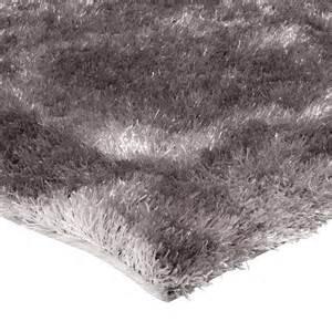 Tapis Shaggy Taupe Brillant by Tapis De Salon Shaggy Gris Beige 120x170cm