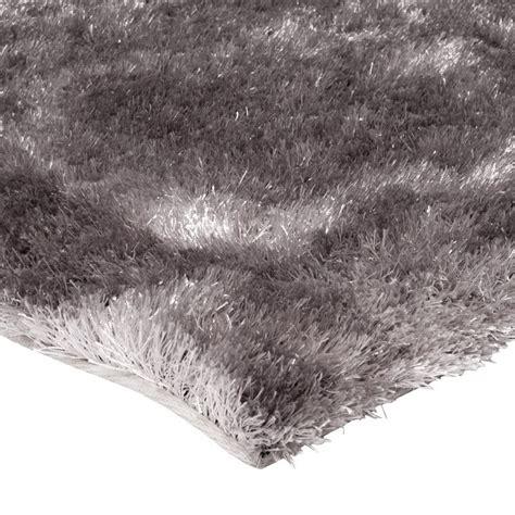 tapis de salon shaggy gris beige 120x170cm