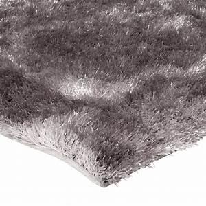 tapis de salon shaggy gris beige 120x170cm With tapis shaggy gris perle