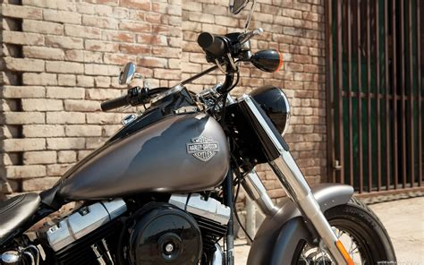 Harley Davidson Softail Slim 4k Wallpapers by мотоциклы Harley Davidson Softail обои для рабочего стола