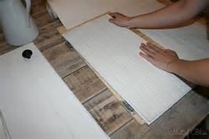 How To Make Shaker Style Cabinet Doors by Diy Beadboard Wallpaper Cabinets Nest Of Bliss
