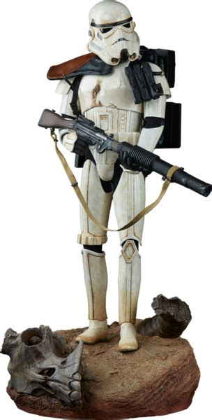 star wars sandtrooper premium format figure geek