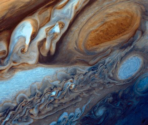 NASA Image of the Day - Jupiter's Great Red Spot Viewed by ...