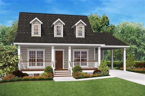 Cape Cod Home Plans  Home Design 9002