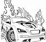 Coloring Pages Cars Race Printable sketch template