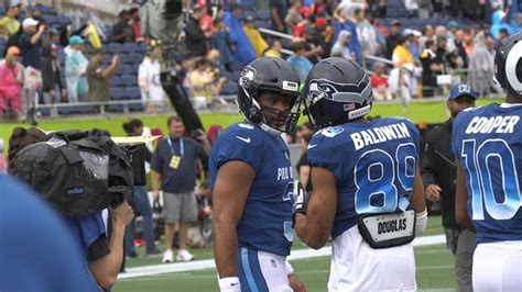 pro bowl gameday micd  russell wilson youtube