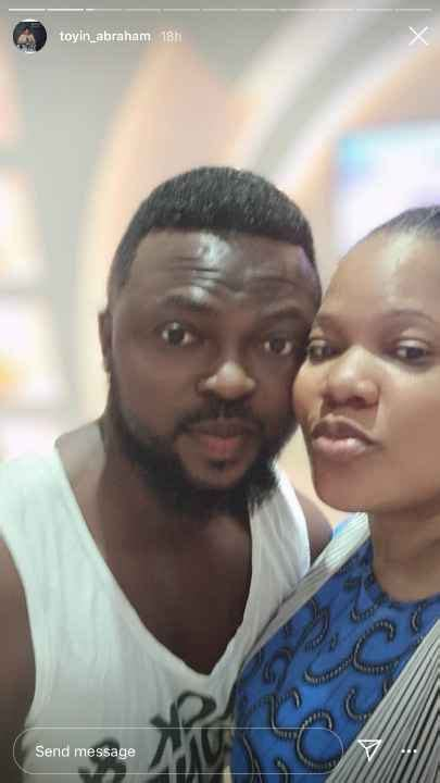 Check Out Loved Up Photos Of Actress Toyin Abraham With ...