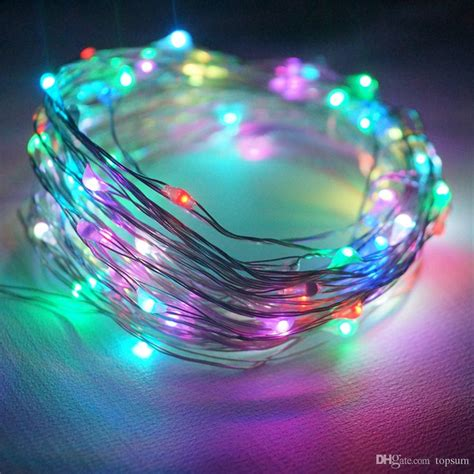 led light strings 10m 100leds dc 5v light string diy novelty led lights for