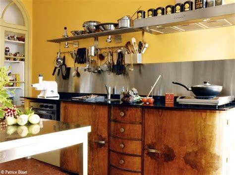 deco cuisine orange décoration cuisine jaune orange