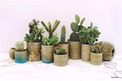 vasi per piante fai da te 1come realizzare dei vasi per le piante grasse riciclando