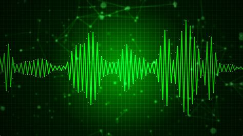 Animated Sound Wallpaper - animated audio sound waveform spectrum sound waves on