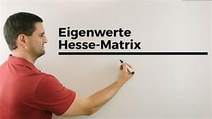 Matrix Eigenwerte Berechnen : eigenwerte hesse matrix bestimmen mehrdimensionale ~ Themetempest.com Abrechnung
