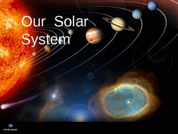 solar system powerpoint by einstein dna teachers pay
