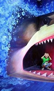 3D paintings at the Magic Art Special Exhibition in China ...