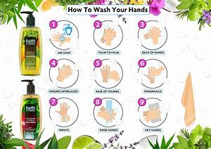Hand Washing Step By Step Infographic