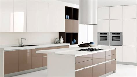 brown and white kitchen designs c 243 mo decorar cocinas blancas 7962