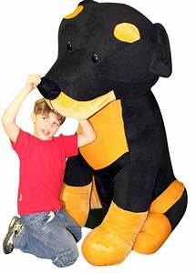 Giant Stuffed Rottweiler Really Huge 5 Feet Tall and 4 ...
