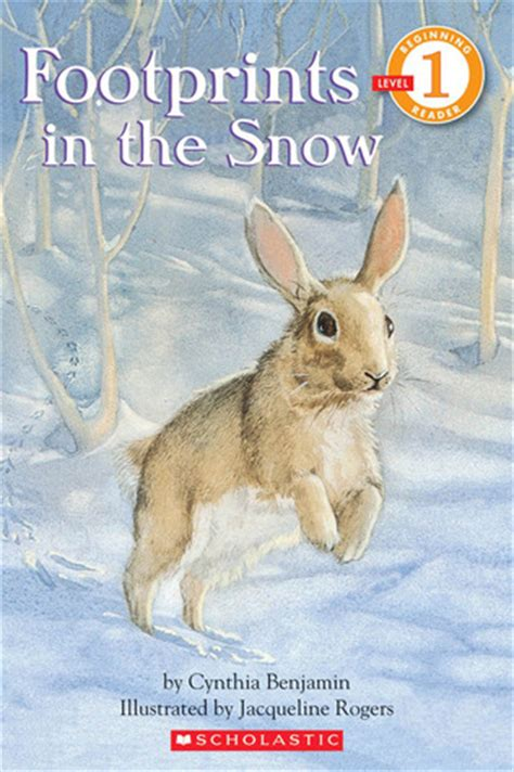 footprints   snow  reader level   cynthia benjamin reviews discussion