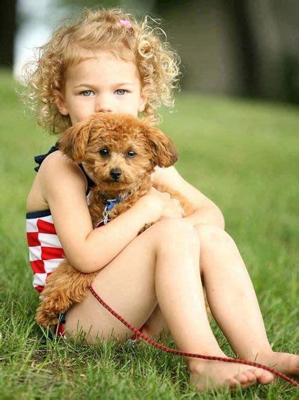 fotos mais fofas  cachorros meninas de cabelos cacheados caes  criancas cabelo infantil