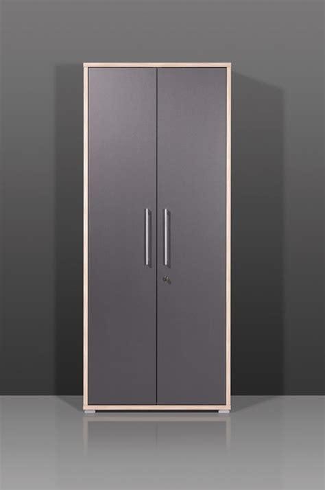 bureau avec rangement int馮r armoire de bureau contemporaine coloris anthracite garland ii soldes bureau promos