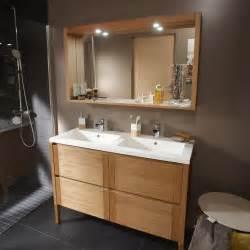 facade meuble cuisine lapeyre meuble de salle de bains fjord plaquage chêne naturel 120
