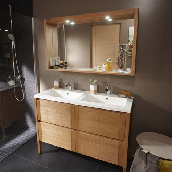 facade meuble cuisine leroy merlin pose d 39 un meuble de salle de bains vasque jusqu 39 à