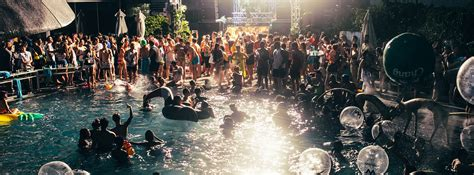 11 Pool Parties Of Your Summer Dreams  W Hotels The