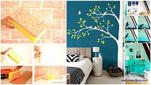 15, Epic, Diy, Wall, Painting, Ideas, To, Refresh, Your, Decor