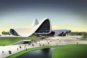 Zaha Hadid Bauwerke : heydar aliyev cultural centre in baku azerbaijan by zaha hadid ~ Frokenaadalensverden.com Haus und Dekorationen