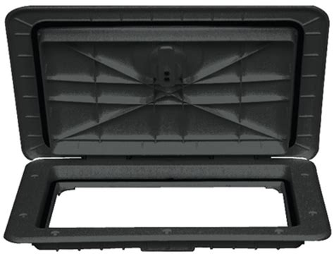 Boat Hatches Black by T H Marine 13 X 24 Access Hatch Black Hat13241dp Ebay