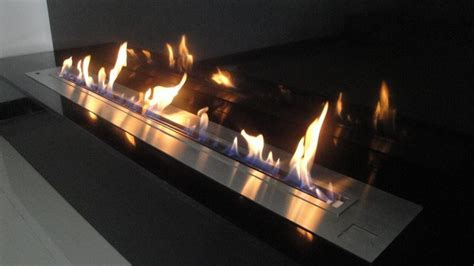 Modern fireplace A fire: remote controlled modern