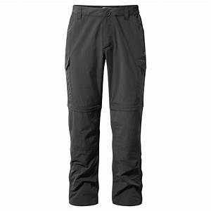 Craghoppers Mens Nosilife Convertible Zip-Off Travel Pants ...