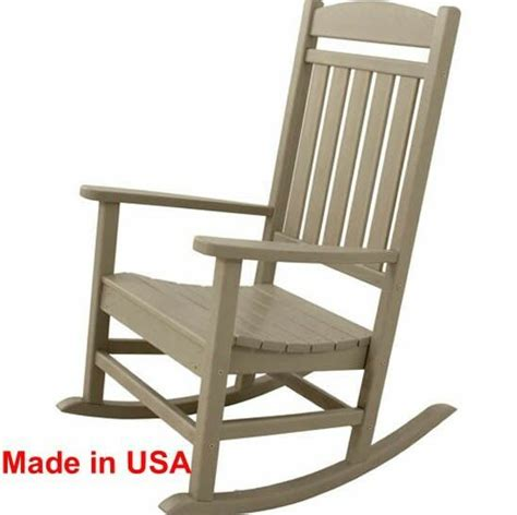 Outdoor Porch Chairs by Patio Polywood Rocker Outdoor Deck Porch Furniture Rocking