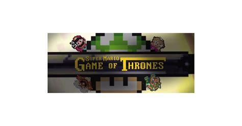 Game Of Thrones Intro In Super Mario World Popsugar Tech