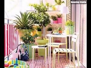 balkonmobel balkon verschonern balkon deko ideen With balkon ideen lichterkette