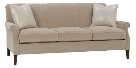 traditional tight  condo apartment size sofa club