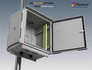 19, U0026quot, Wall, Rack, 12u, Outdoor, Fiber, Optic, 50cm, Double, Layer