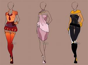 Fashion Adoptables 7 - CLOSED by Karijn-s-Basement on ...