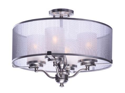 flush mount lights lucid 4 light semi flush mount semi flush mount maxim